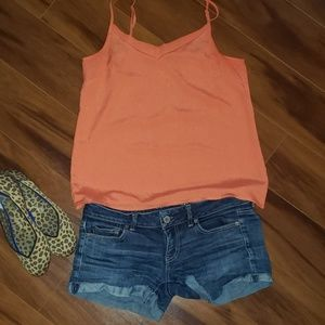 The Limited Orange Cami Top